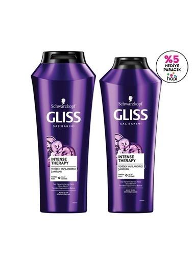 Gliss Intense Therapy Yeniden Yapılandırıcı şampuan Seti (şampuan 500 Ml + şampuan 360 Ml)   Renksiz